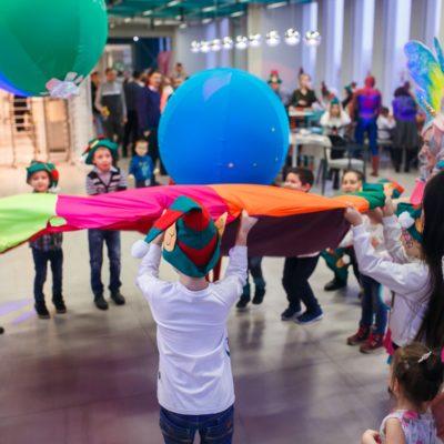 Новогодние детские елки для детей сотрудников девелоперской компании