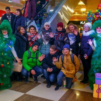Новогодние активности для торгового центра