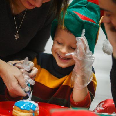 Новогодние елки для детей сотрудников компании STADA